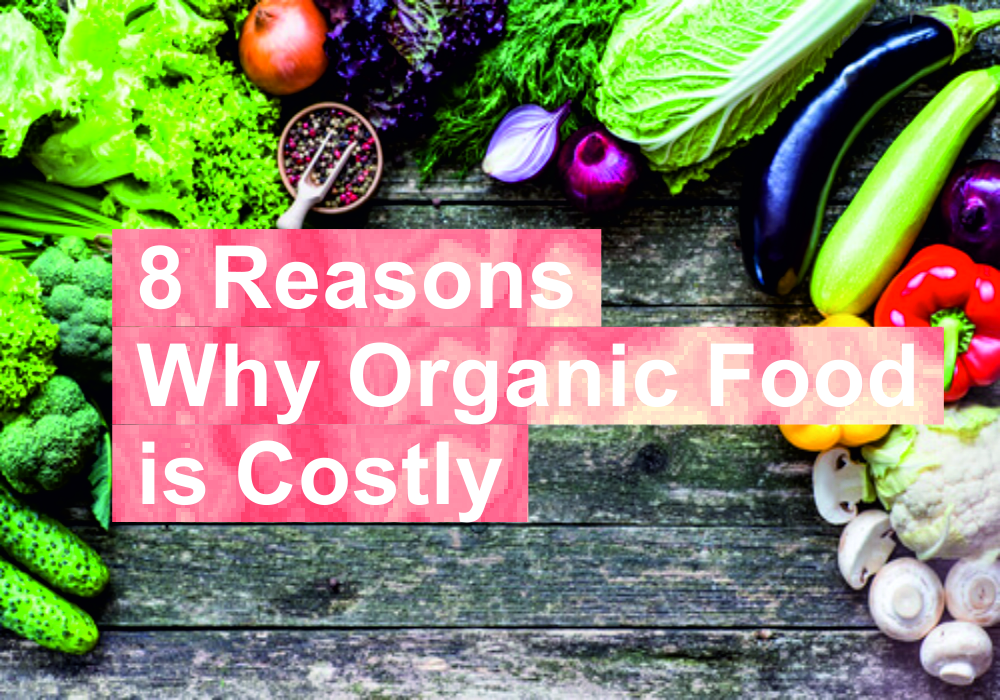 8 logical reason why organics products are costly
